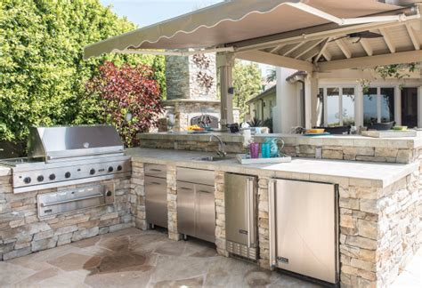 kitchen islands in small kitchens options grow as cooks turn more to outdoor kitchens
