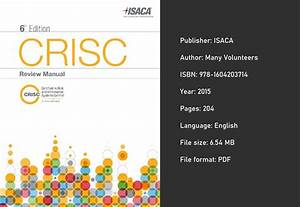Download  Crisc Review Manual 6th Edition