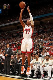 shooting  pointers  ray allen thepostgamecom