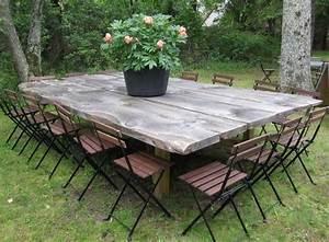 Rondin De Bois Pour Jardin : emejing table de jardin en rondin de bois images awesome ~ Edinachiropracticcenter.com Idées de Décoration