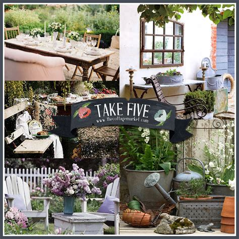 Take Five Vintage Outdoor Decor  The Cottage Market