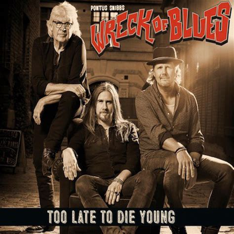 Pontus Snibbs Wreck Of Blues  Too Late To Die Young