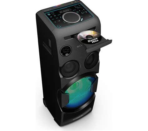 buy sony mhc v50d wireless megasound hi fi system black free delivery currys