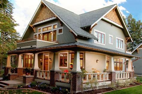 Architecture, Craftsman Home Exterior Paint Colors Design