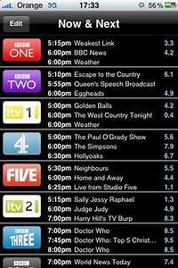 Tv Listings And Live Chat 7 13