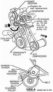 Service Manual  How To Remove Fan Belt On A 1993 Mercedes