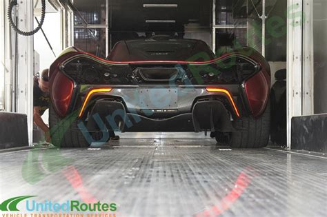 Stingray Boats Ta Fl by Securing A Mclaren P1 For Enclosed Transport