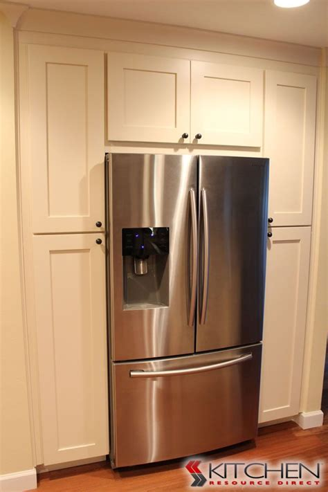 pantry kitchen cabinet surround your refrigerator with pantry cabinets house 1411