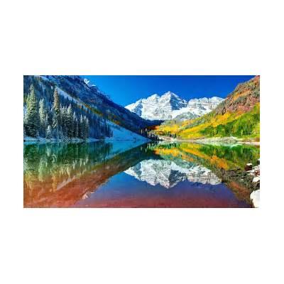 Maroon Bells Colorado Desktop Background HD 1920x1080