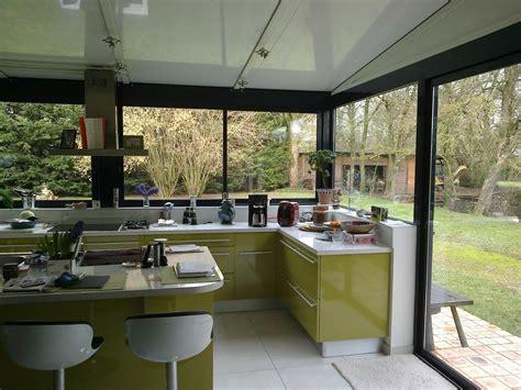 cuisine veranda cuisine dans une véranda extension maison