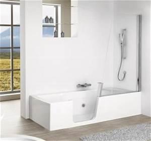 Prix Baignoire Avec Porte : am nager une salle de bain pour seniors habitatpresto ~ Edinachiropracticcenter.com Idées de Décoration