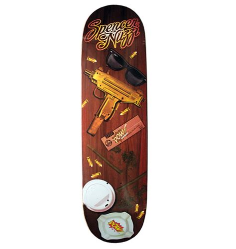 Spencer Nuzzi Deck Mishka by 滑板男神之spencer Nuzzi Dope10最棒单