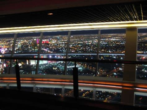 stratosphere observation deck times observation deck picture of top of the world restaurant