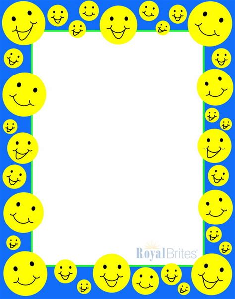 poster board happy face design geographics