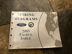 2005 Ford Taurus Mercury Sable Wiring Diagrams Electrical