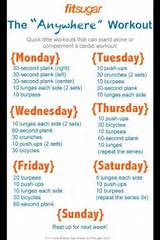 Fitness Routine No Equipment