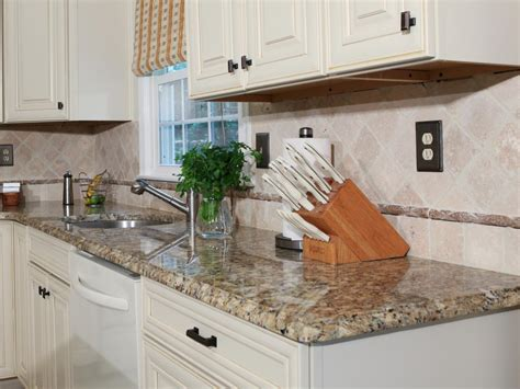 How To Replace Countertops by How To Install A Granite Kitchen Countertop How Tos Diy