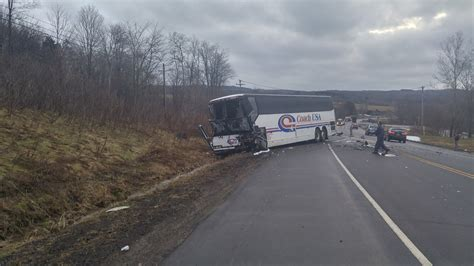 Coach Usa Bus Accident Closes Route 60  News, Sports