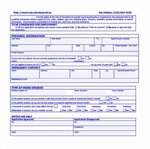 Simple Order Form Template 9 Civil Service Exam Application Form Templates To
