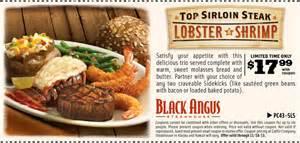 Black Angus: $17.99 Lobster & Shrimp Printable Coupon