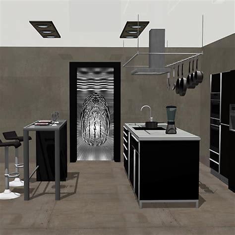 contour de porte interieur deco noir et blanc oeuf cosmique noir et blanc