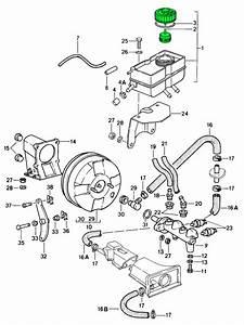 Porsche 993 Brake Fluid Reservoir 99335501702