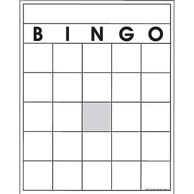 free bingo template top notch products 174 blank bingo card staples 174