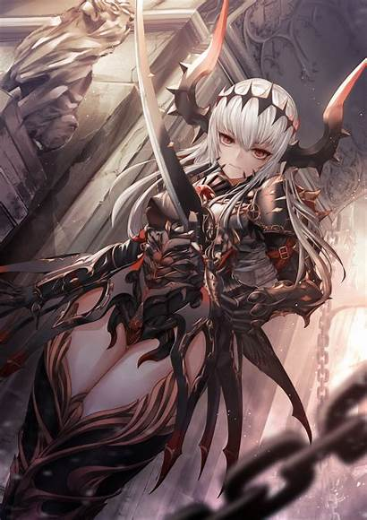 Warrior Fantasy Anime Character Demon Characters Manga