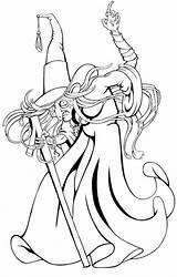 Coloring Pages Halloween Witches Printable Adult Print sketch template