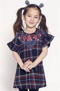 Mayoral Clothing Size Chart Banana Plaid Designer Dress Girls 2t 4t 4 5 6