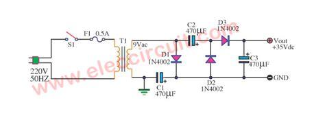 dc voltage doubler  voltage multiplier circuits working