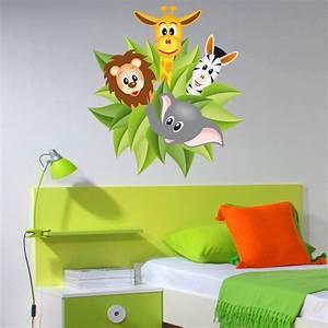 Wandtattoo Kinderzimmer Dschungel : wandtattoos folies wandsticker dschungel ~ Orissabook.com Haus und Dekorationen