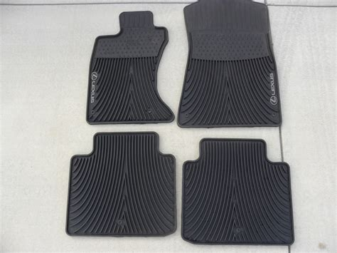 2008 lexus es350 floor mats 2008 lexus es 350 all weather floor mats carpet vidalondon