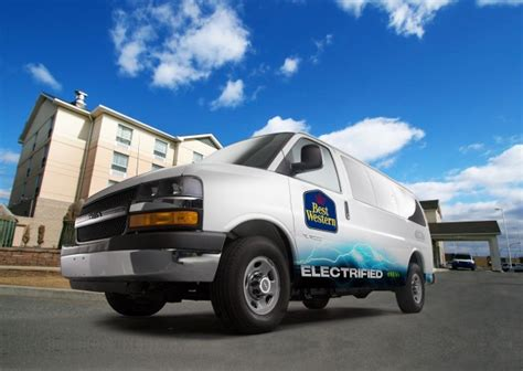 Best Electric Vans by Best Western To Use 1 000 Via Range Extended Electric Vans