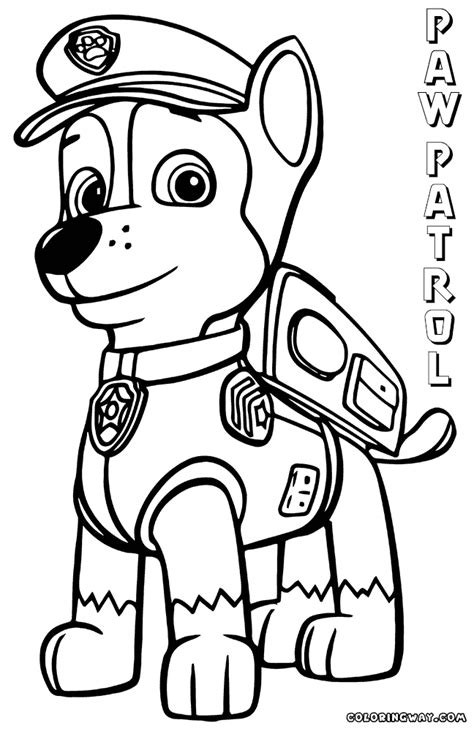 paw patrol coloring pages coloring pages