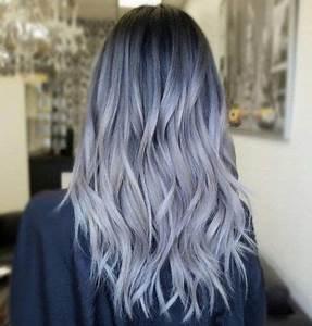 Blaue Haare Ombre : grannyhair 2 0 graue ombr haare sind jetzt trend grau blau pinterest ombr haare ~ Frokenaadalensverden.com Haus und Dekorationen