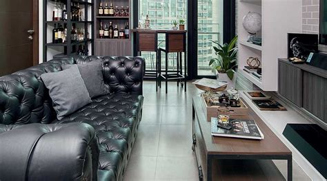 Minimalist Condo Living by You Need To See This Interior Designer S Industrial Yet