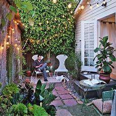 Pinterest Picks  Stunning Small Outdoor Spaces