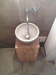 Waschbecken Gaeste Wc : beton waschbecken g ste wc g ste wc pinterest waschbecken g ste wc g ste wc und waschbecken ~ Watch28wear.com Haus und Dekorationen