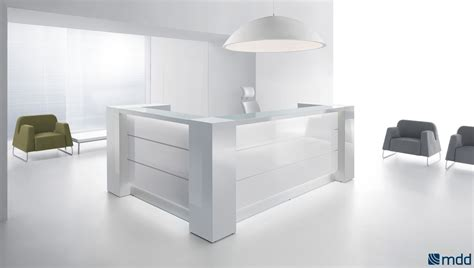 lada led scrivania furniture office valde l shape reception desk high