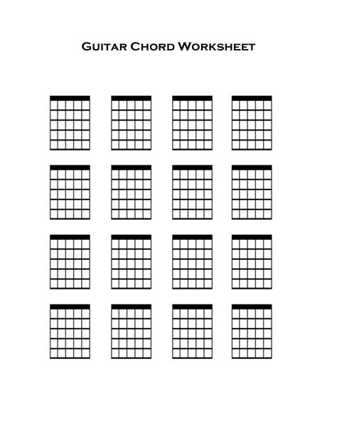 17 best images about papers blank guitar chord chart blank guitar chord chart