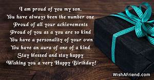 i am proud of you my birthday message