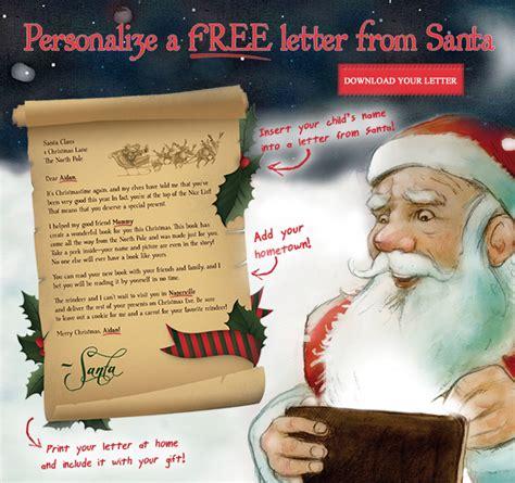personalized letter  santa fun