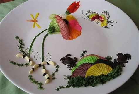 Chinese Decoration And Presentation Of Food