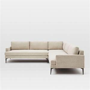 L Sofa : andes l shaped sectional stone twill west elm uk ~ Buech-reservation.com Haus und Dekorationen