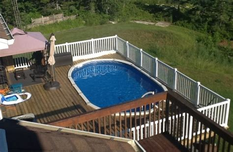 Above Ground Swimming Pool Decks Pictures by 40 Uniquely Awesome Above Ground Pools With Decks
