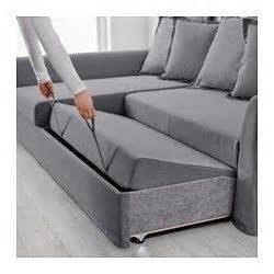 holmsund sleeper sectional  seat nordvalla medium gray