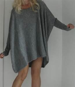 Oversize pullover kleid