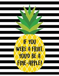 """""""Fine-Apple"""" Pineapple Printables + Gift Tags - Happiness"""
