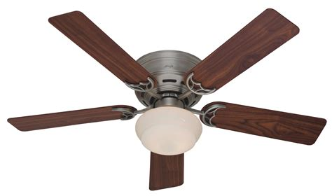 pictures of ceiling fans hunter 52 quot low profile iii plus ceiling fan 20801 in